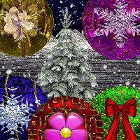 Christmas Ornaments by FairyRealm30
