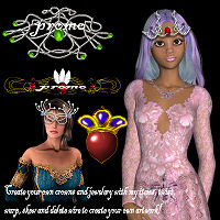 Elven Crowns by FairyRealm30
