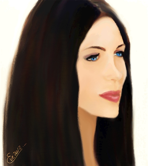 Brunette by TheGalleryOfEve