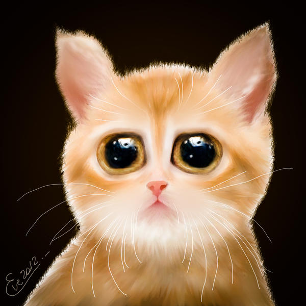 Cute Cat by TheGalleryOfEve