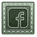 DoubleSquareBadge E Facebook by TheGalleryOfEve