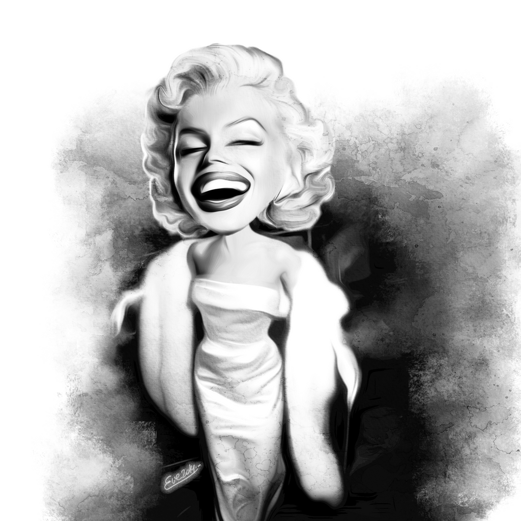 Glamorous Marilyn by TheGalleryOfEve