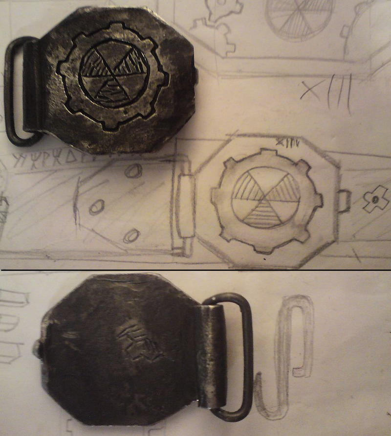 Fallout belt buckle