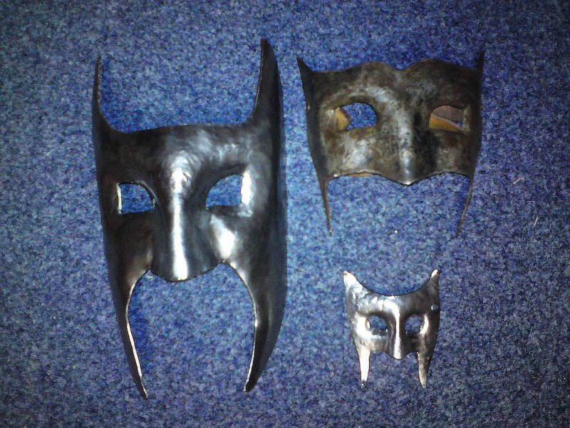 The mask of shadows - Actual set