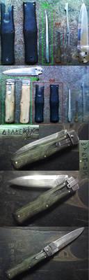 Knife repairing - Chrysalis style