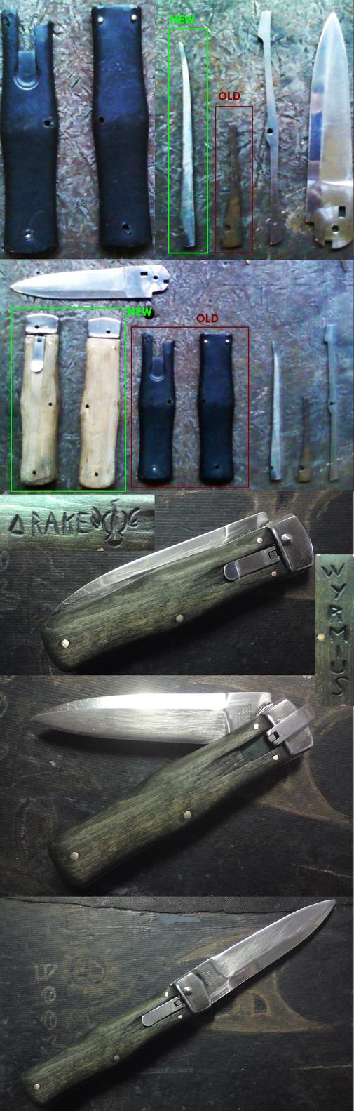 Knife repairing - Chrysalis style by JoeWere