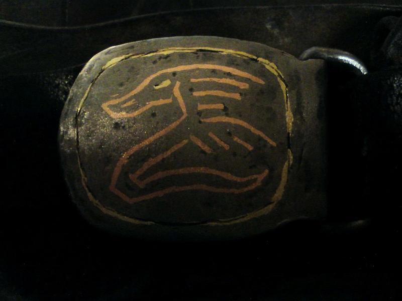 belt Buckle by JoeWere
