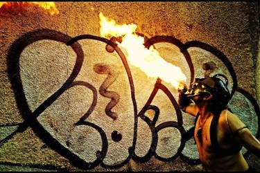 Fire burp by JoeWere