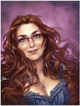 Commission: Selene portrait