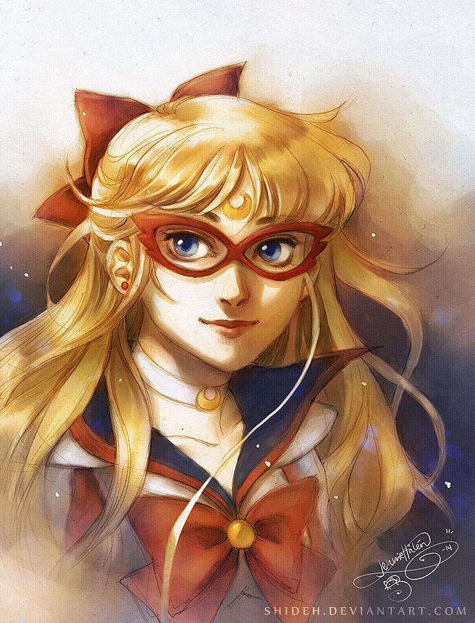 Sailor V by shideh