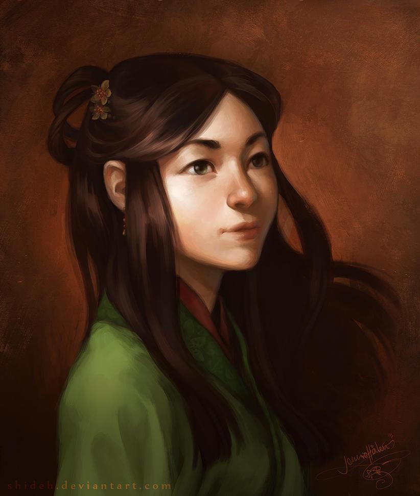 Jade Eyes by shideh