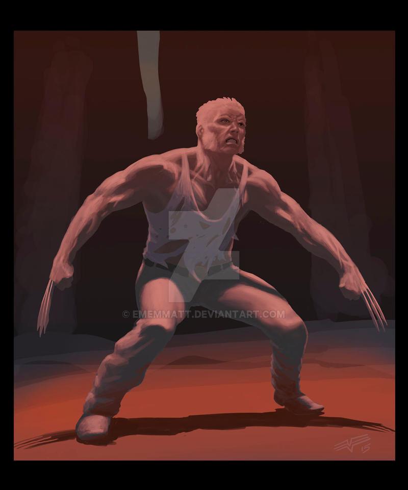 Old Man Logan-1 by ememmatt