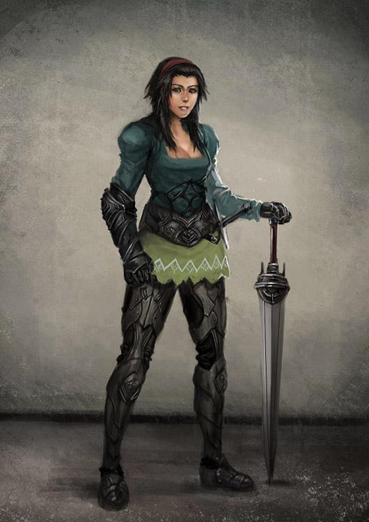 Рыцарь в юбке