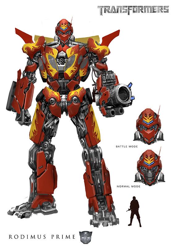 Rodimus Prime Concept by rickyryan