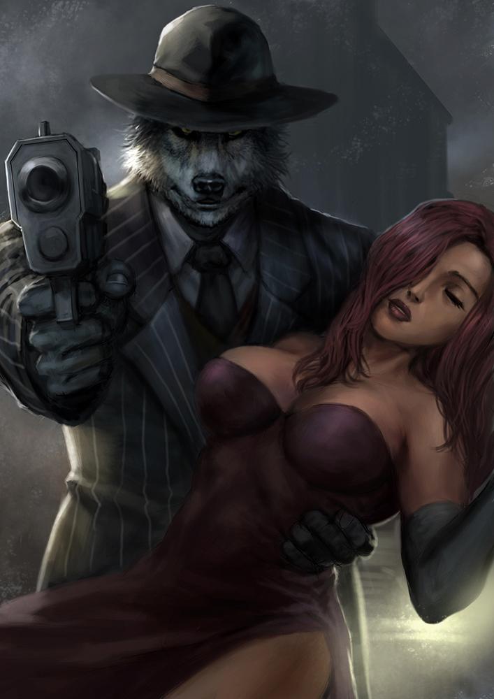 Noire 1 by rickyryan
