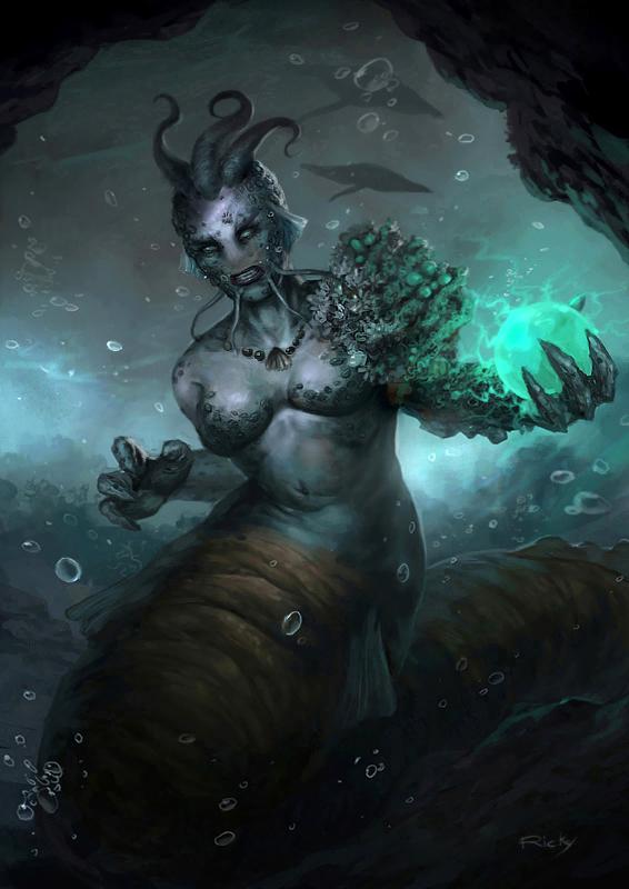 Sea Witch by rickyryan