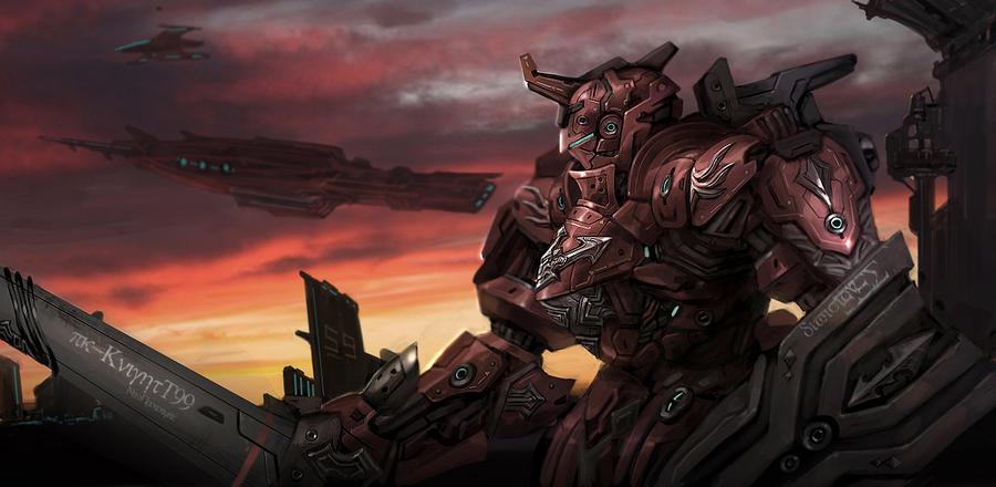 Red Knight by rickyryan