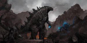Godzilla by rickyryan