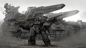 Mech war by rickyryan