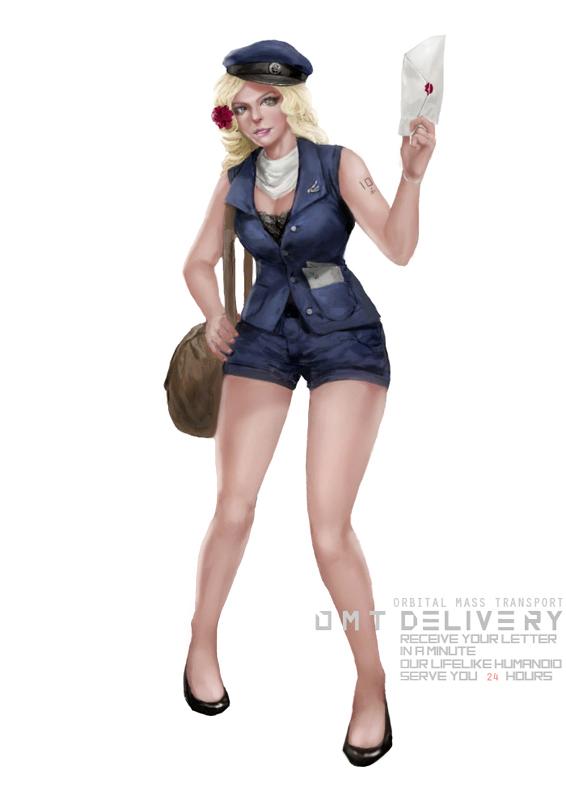 Postwoman by rickyryan