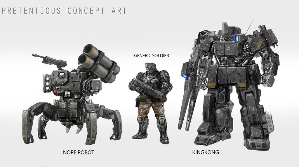 Another Concept Art by rickyryan