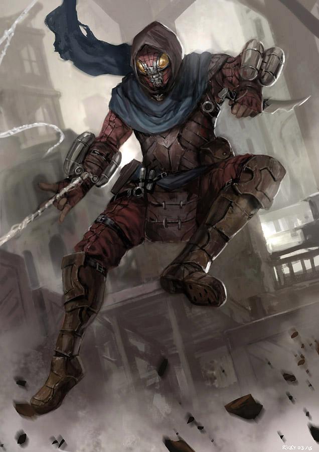 Spiderman Fantasy by rickyryan