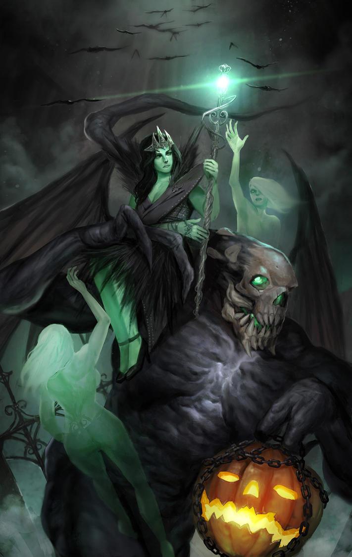 Wraith Queen by rickyryan