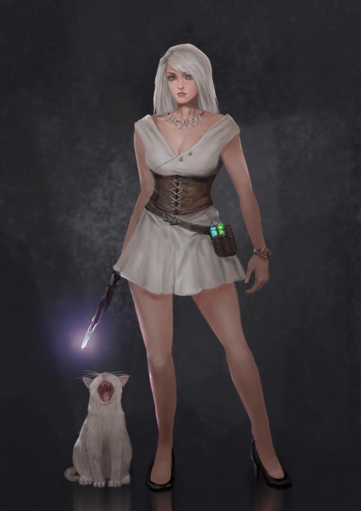 White Witch by rickyryan