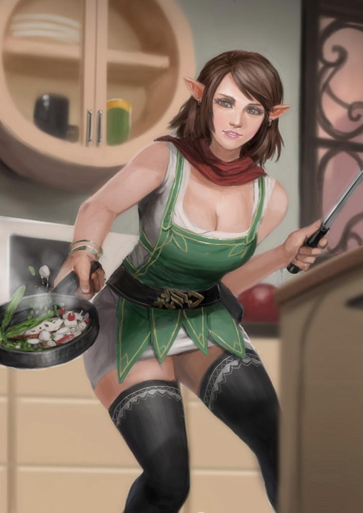 Elf chef by rickyryan