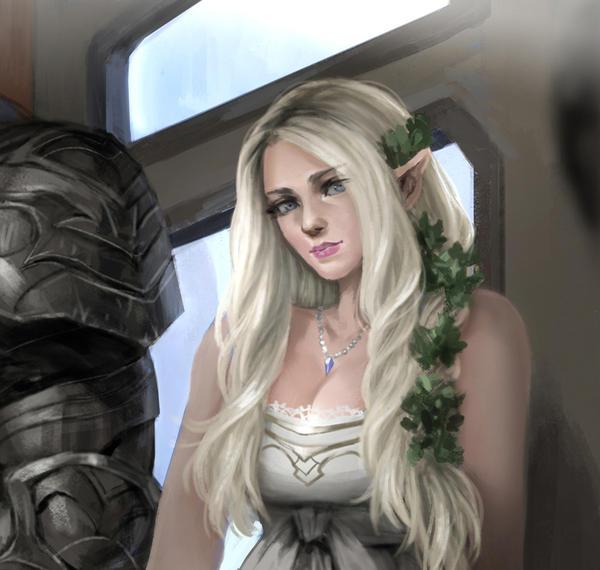 Elf Princess by rickyryan