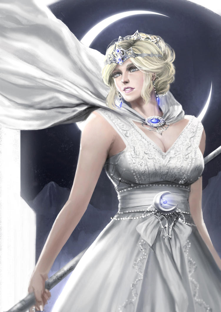 Moon Queen by rickyryan