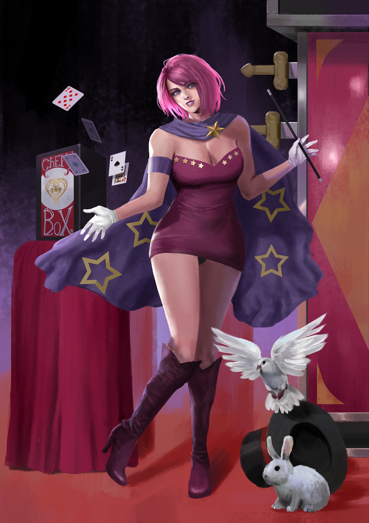 Cherly Star The Magician by rickyryan