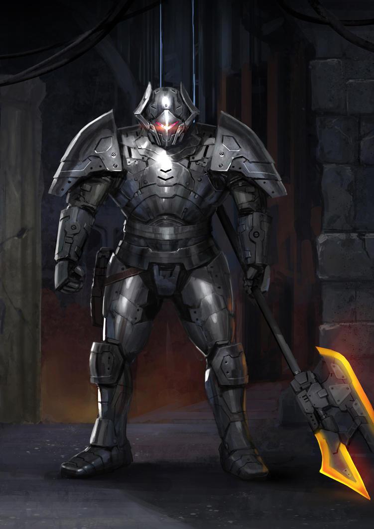 Silver Knight by rickyryan