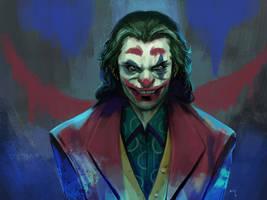 Joaquin Phoenix Joker by rickyryan