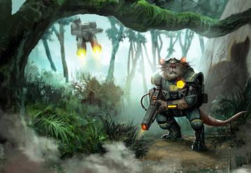 Jungle Rat by rickyryan