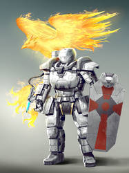 Cross Knight by rickyryan