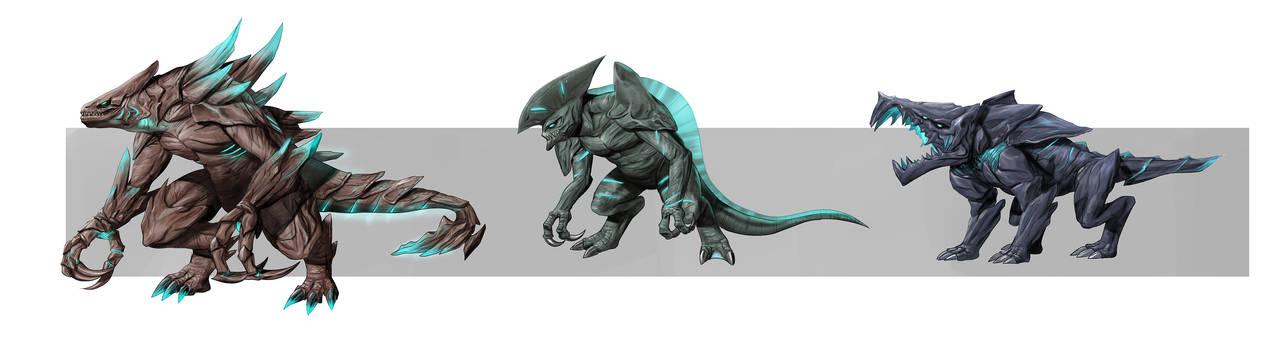 Concept Design Kaiju2 by rickyryan