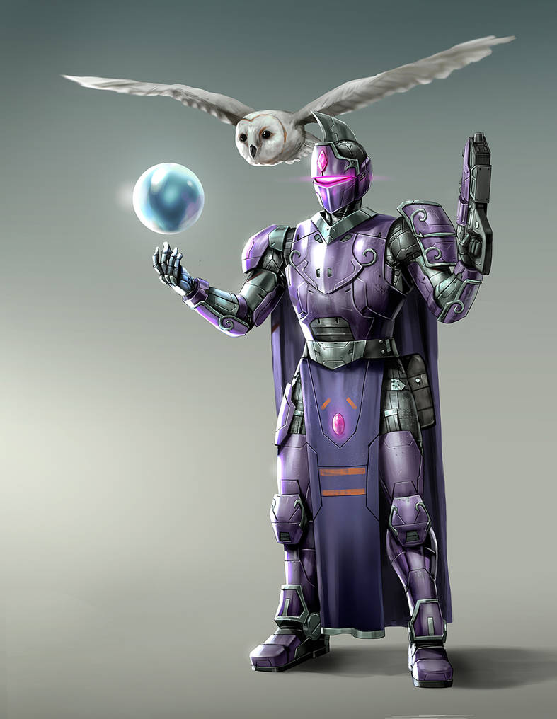 Purple Knight by rickyryan