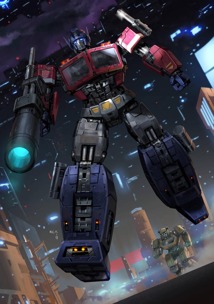 Optimus Prime by rickyryan