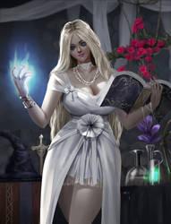 Witch Maiden by rickyryan