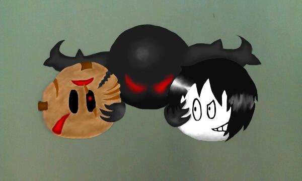 Jeff, Jason, and Zalgo: The Undead Trio by BloodAndKnives