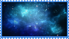 Blue Space Stamp