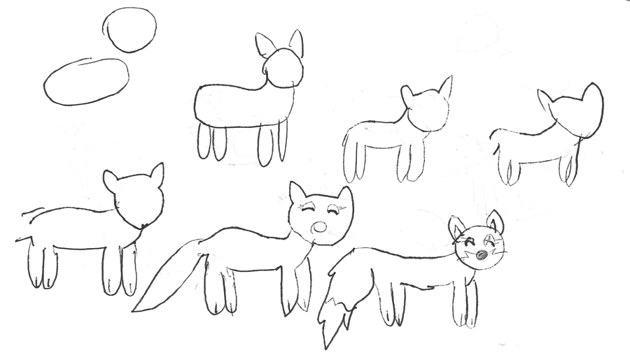 How To Draw ... How To Draw A Fox For Kids