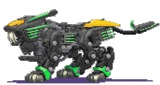 Zoids Sprites by firedoomcaster
