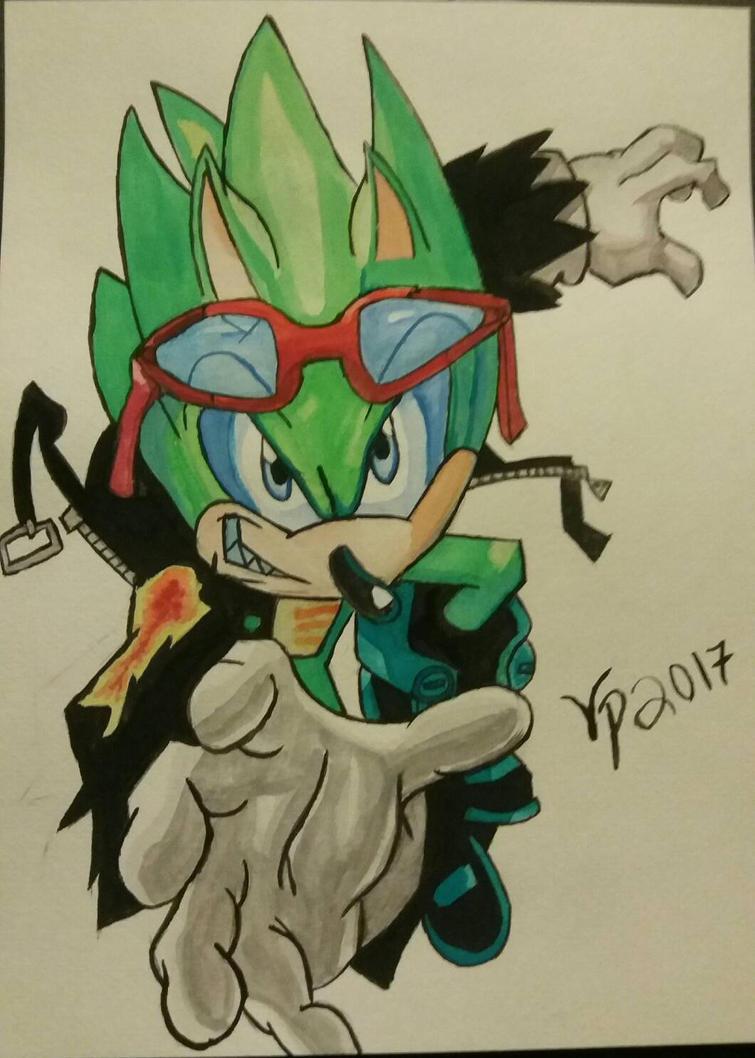 Scourge the Hedgehog by Vegito-Princess
