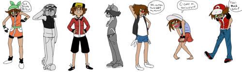 Nuzlocke Clothing Swap Meme by Wishmaker15