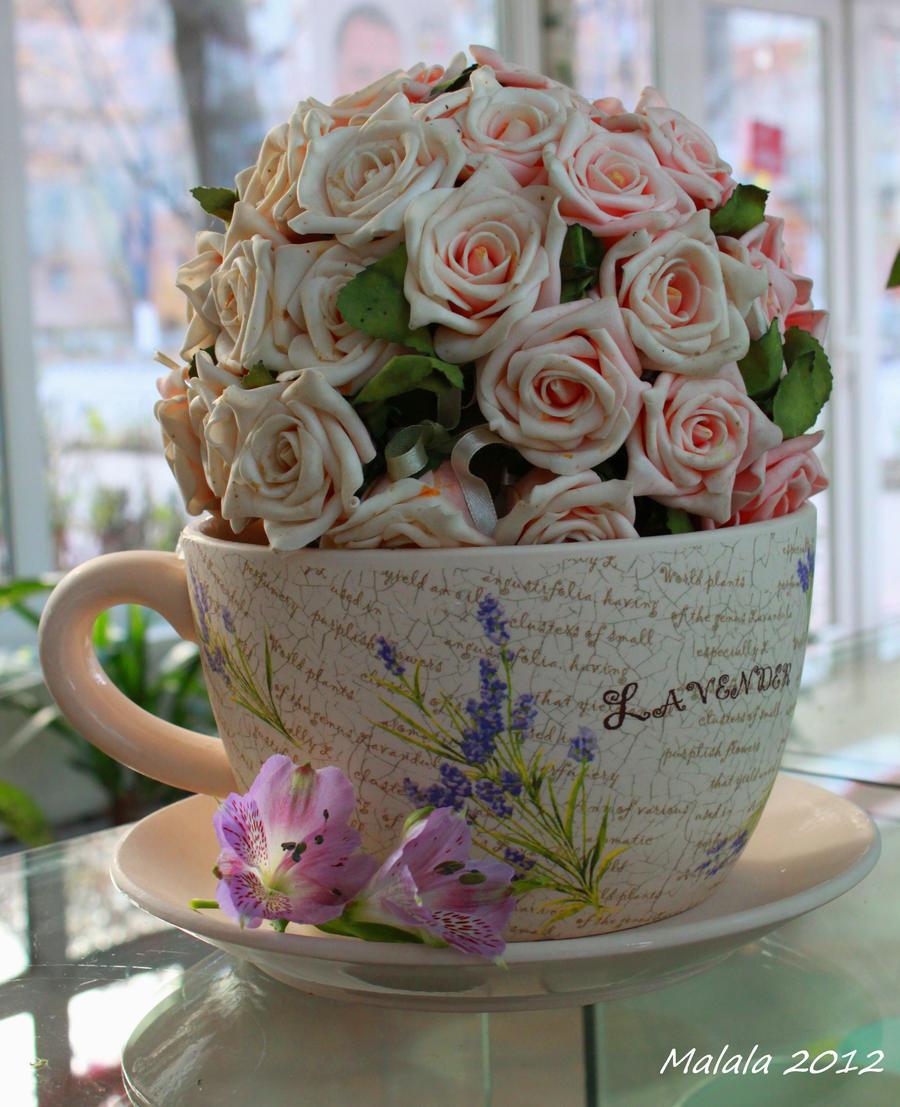 Artflower - I miss you by malaladanila