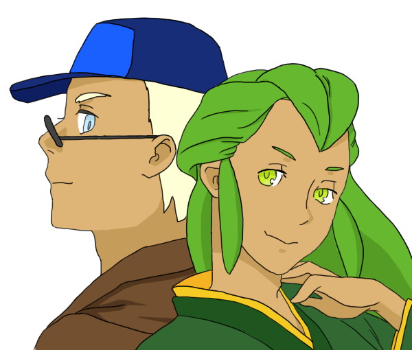 Pokemon OC - Inspector Knives and Laurentino by Hyedris