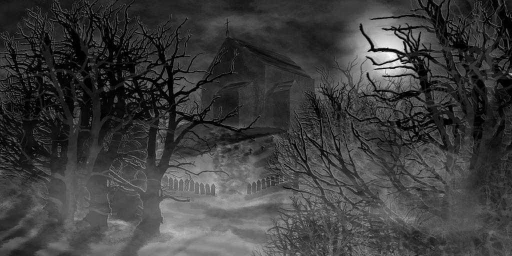Haunted Church by IMKamera