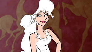 Megara Base with clothes and hair